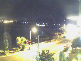 南灣沙灘晚上